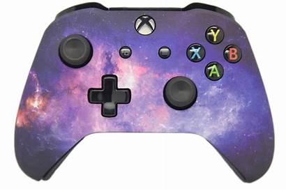 Xbox Galaxy Controller Side