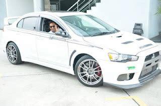 kereta mitsubishi evo gambar kereta baru zizan raja lawak mitsubishi evo 10