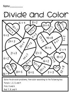 13 best images of multiplication and division coloring math worksheets grade 6 100