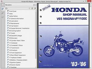 Honda V65 Magna - Service Manual