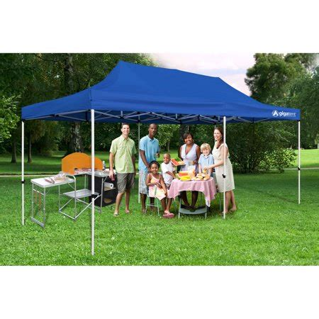 party tent    canopy solid blue walmartcom