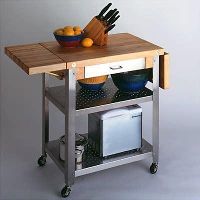 John Boos Cucina Elegante Kitchen Cart (3 types