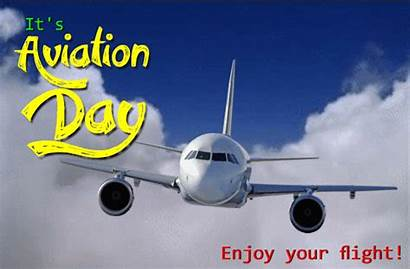 Aviation Flight Enjoy National Happy Animated Ecard