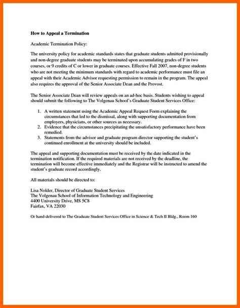 termination appeal letter sampletemplatess