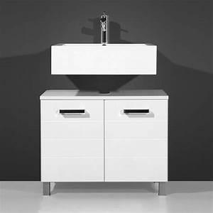 Meuble Salle De Bain Double Vasque Pas Cher : meubles evier salle de bain ~ Teatrodelosmanantiales.com Idées de Décoration