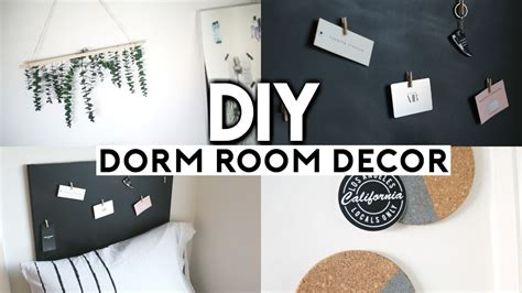 diy dorm room decor easy cheap   school