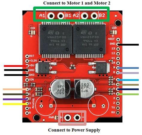 tutorial  monster motor shield vnhsp  steps