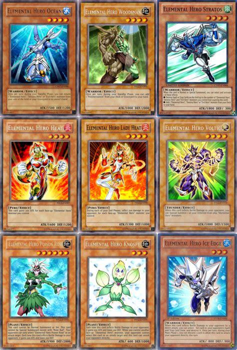 elemental deck list 2011 gx elemental heroes by jcxtreem on deviantart