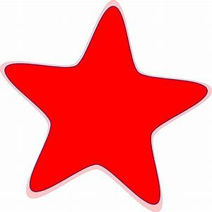 Red Star Clip Art at Clker.com - vector clip art online ...
