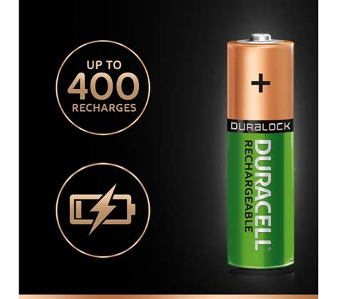 duracell aa nimh rechargeable batteries 4 battery pack deals pc world