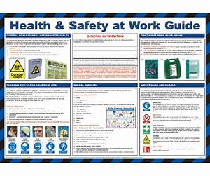 Health  U0026 Safety At Work Guide Poster  U2014 Licensed Trade Supplies