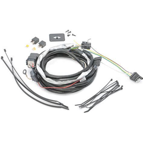 Jeep Zj Trailer Wiring Harnes by Mopar 82209770ab 4 Way Flat Hitch Wiring Harness For 05 06
