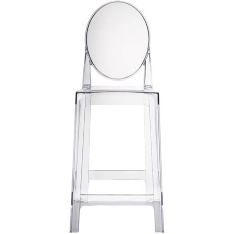 style ghost bar stool counter stool clear stool