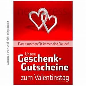 Valentinstag Geschenke Auf Rechnung : plakat gutscheine zum valentinstag net ~ Themetempest.com Abrechnung