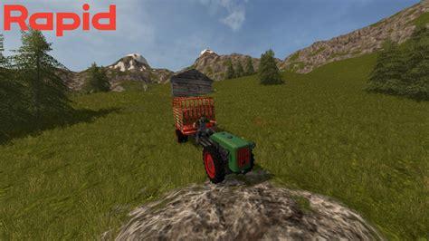rapid special einachstransporter   mod farming