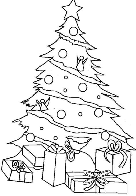 navidad imagenes para colorear arbol navidad trato o truco