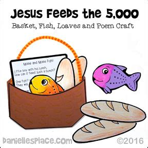 jesus feeds 5000 craft bible crafts jesus feed 5 000 4773