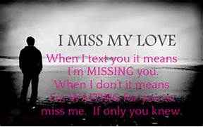 I Miss You Girlfriend Quotes