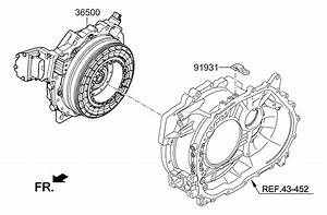 2013 Kia Optima Hybrid Traction Motor  U0026 Gdu Assy