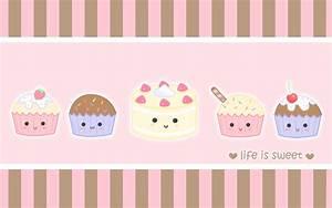 Cartoon Cupcakes Background | www.pixshark.com - Images ...