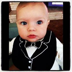 Axl Duhamel put on his best bib for his Academy Awards ...