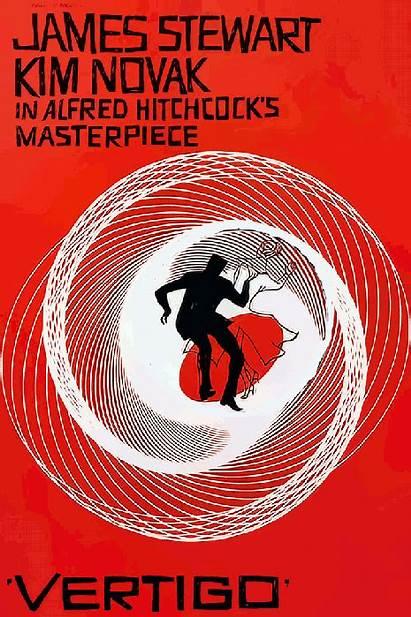Vertigo Poster Animated Sensation Posters Falling Hitchcock