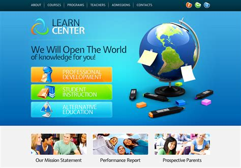 free educational websites top 10 useful web design tricks and free templates for educational websites premiumcoding