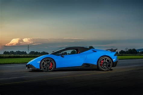 Official 805hp Lamborghini Huracan Spyder By Oct Tuning