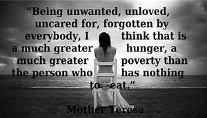 Poverty. Mother... Poverty And Religion Quotes
