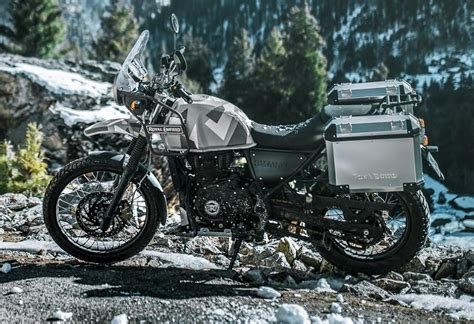 Royal Enfield Himalayan 2019 by Royal Enfield Upgrades The Himalayan 2019 With Abs And New