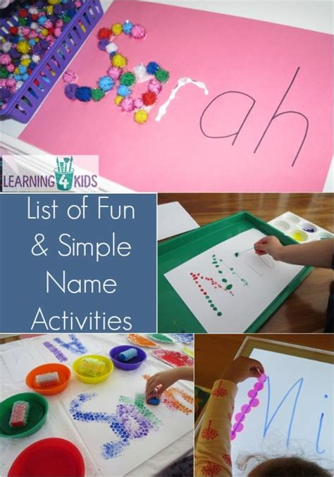 196 best name activities and crafts images on 308 | bb01dfd3ae98d34b1011a2e9a530c911 playgroup activities writing activities