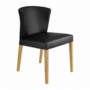 Chaise Salle A Manger Noir : valentina chaises de salle manger noir bois habitat ~ Teatrodelosmanantiales.com Idées de Décoration