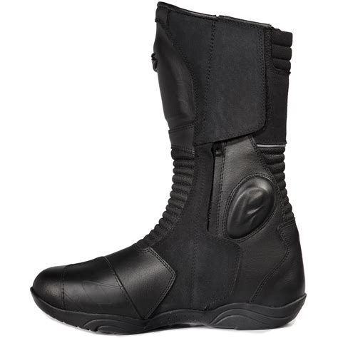 waterproof motorcycle touring boots spyke owl wp waterproof motorcycle boots touring bike boot