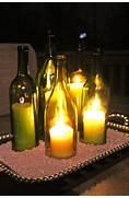 How To Wine Bottle Centerpieces Hayes Everyday Wine Bottle Centerpieces 2 By Eowynmaid On DeviantArt Elegant Wine Bottle Vases Use Metallic Spray Paint On Wine Bottles Wine Bottle Centerpiece Wedding Centerpiece Pinterest