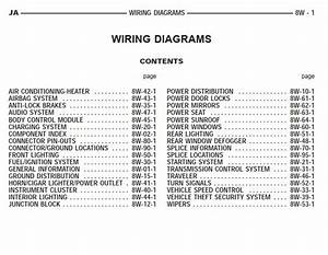 Dodge Ja Stratus Cirrus 1998 System Wiring Diagrams