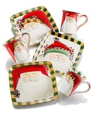 vietri  st nick holiday collection dinnerware dining entertaining macys