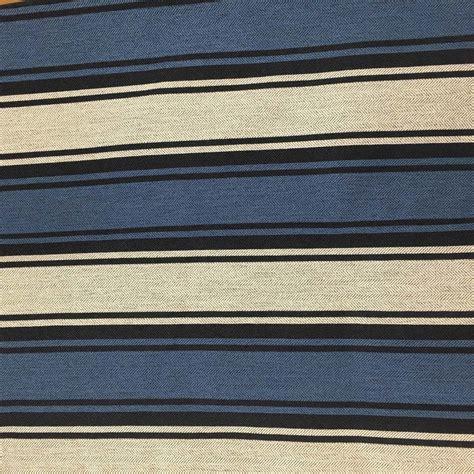 Striped Drapery Fabric by Navy Blue White Herringbone Striped Upholstery Drapery