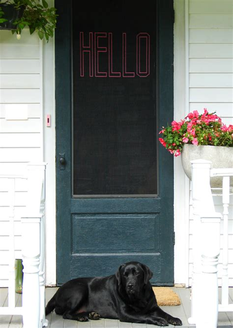 diy project stitched screen door by hendrickson