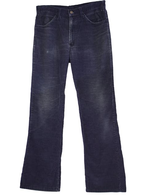 light blue corduroy pants mens 1970 39 s retro flared pants flares 70s levis mens navy