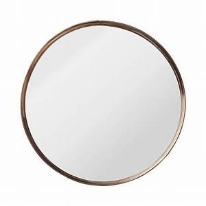 Miroir Rond à Suspendre : miroir rond ~ Teatrodelosmanantiales.com Idées de Décoration
