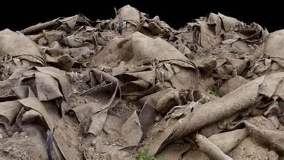 Rubble Debris Pile 3d Sand Carpet Poly