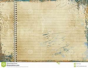 Vintage lined paper stock illustration. Illustration of ...