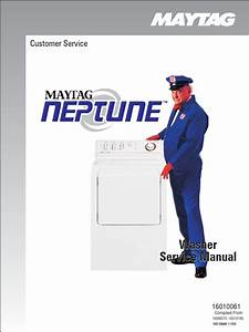 Maytag Neptune Washer Service Manual Mah6500aww