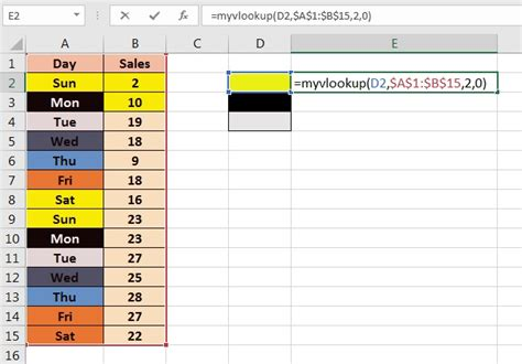 excel background color vlookup by cell background color pk an excel expert