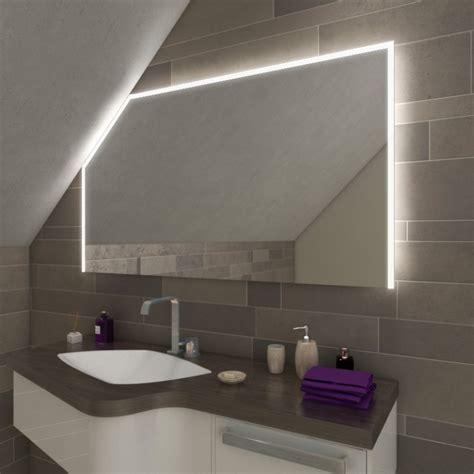 Badezimmer Spiegelschrank Dachschräge by Azrim Led Badspiegel Mit Dachschr 228 Ge Kaufen