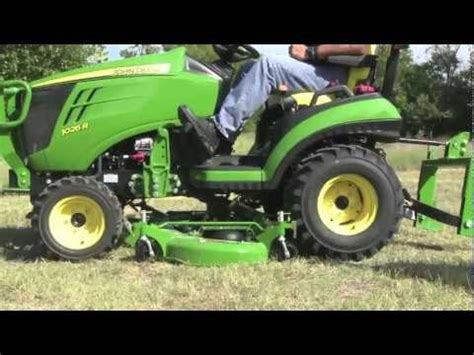 deere 1025r mower deck randy white deere 1025r and 1026r deck on and