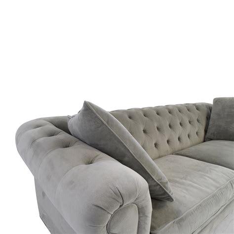 Martha Stewart Saybridge Sofa by 63 Macy S Martha Stewart Saybridge Grey Sofa Sofas