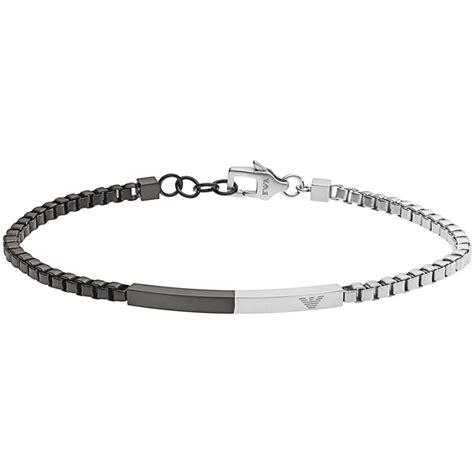 bracelet man jewellery emporio armani spring egs