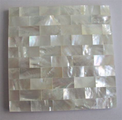 river shell mosaic tile bathroom mosaicid