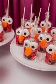 Sesame Street Cakes Elmo Birthday Party Ideas